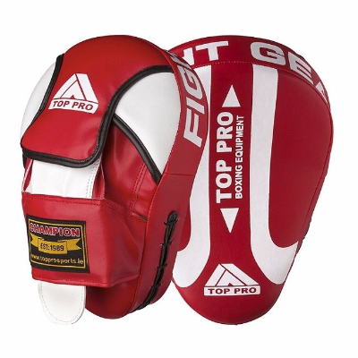 Top Pro Champion Focus Pads - Red