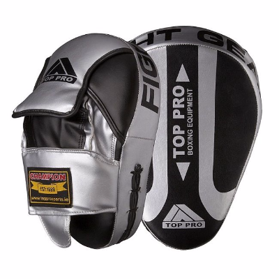 Top Pro Champion Focus Pads - Silver