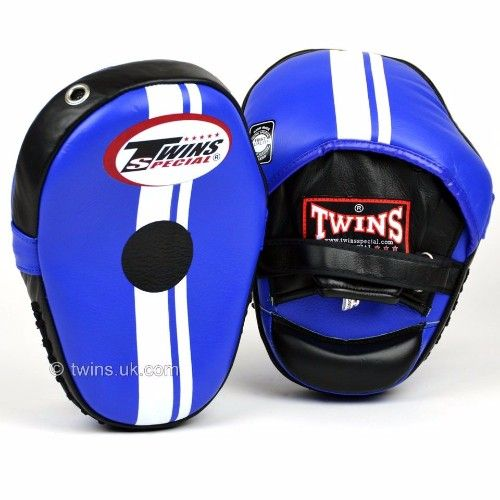 Twins Classic Curved Focus Pads - Blue