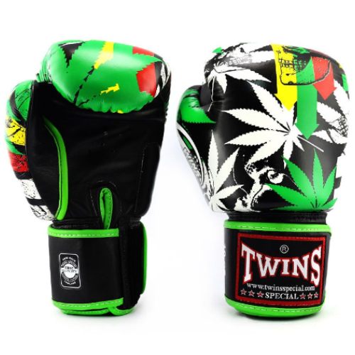 Twins Grass Limited Edition Boxing Gloves