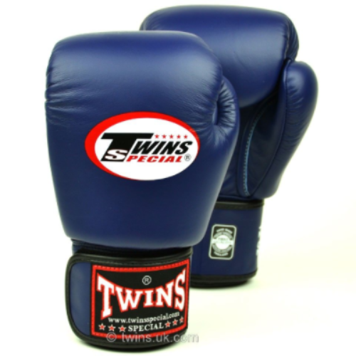 Twins Standard Boxing Gloves - Navy Blue