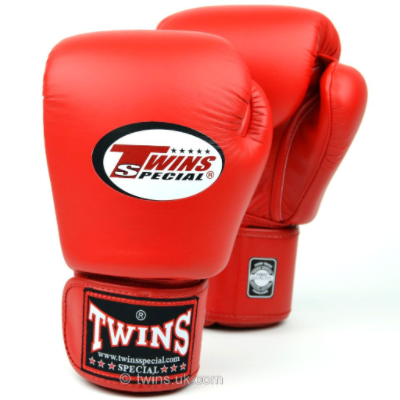 Twins Standard Boxing Gloves - Red