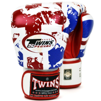Twins - UK Flag Boxing Gloves