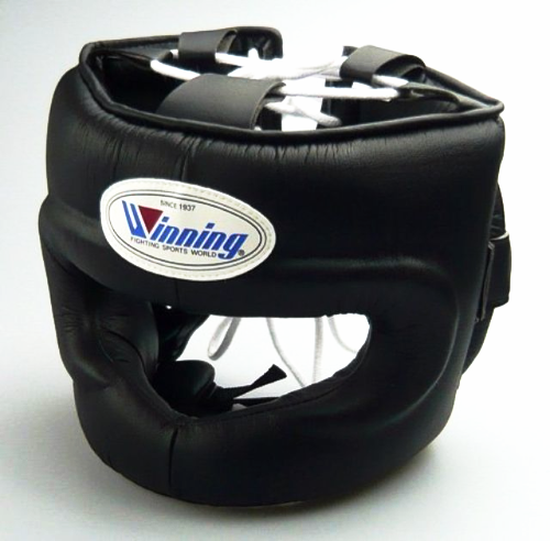Winning FG-5000 Face Bar Head Guard - Black