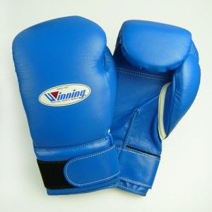 Winning Velcro Boxing Gloves - Blue